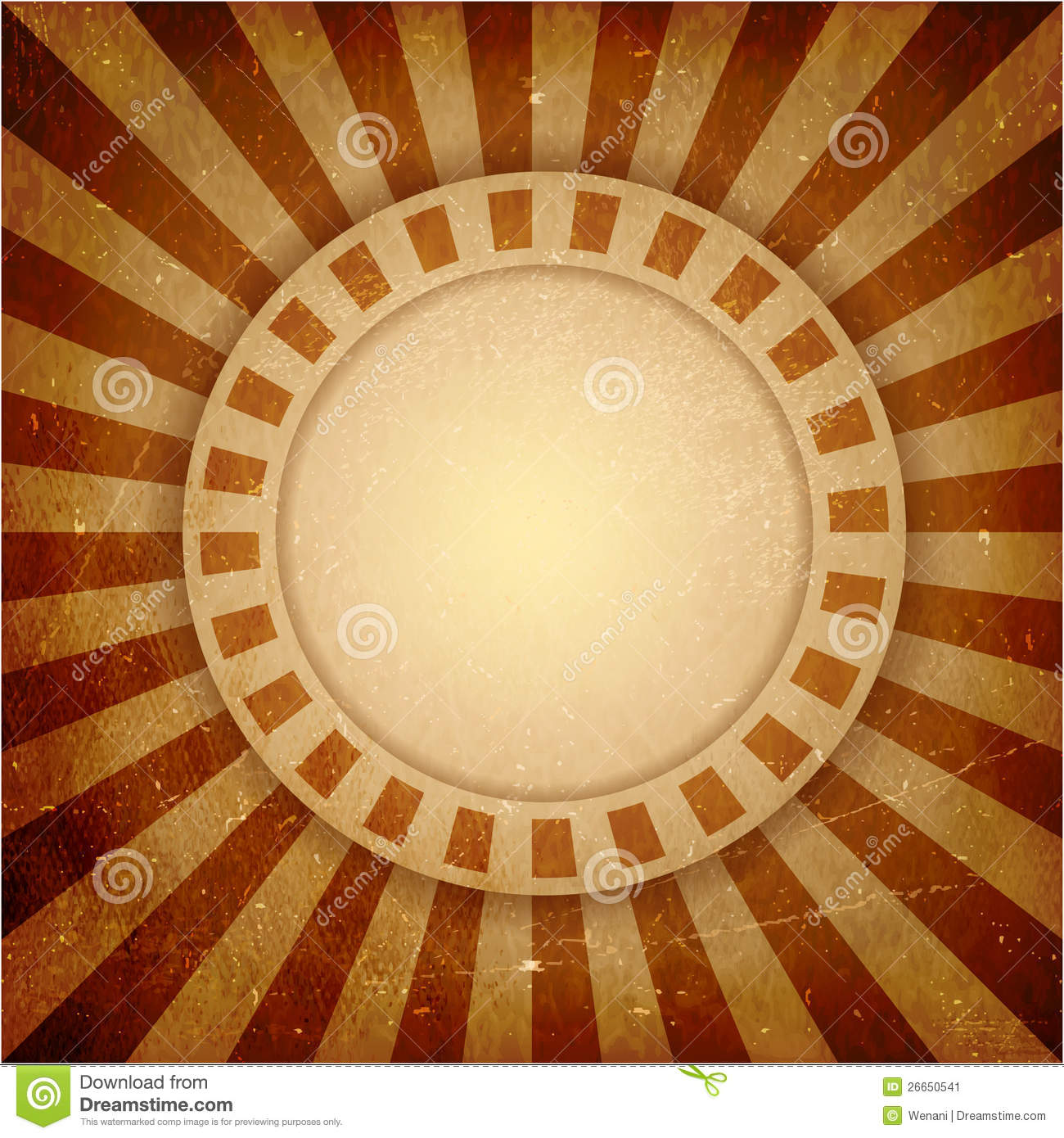Brown Grunge Light Rays Background Stock Vector ...