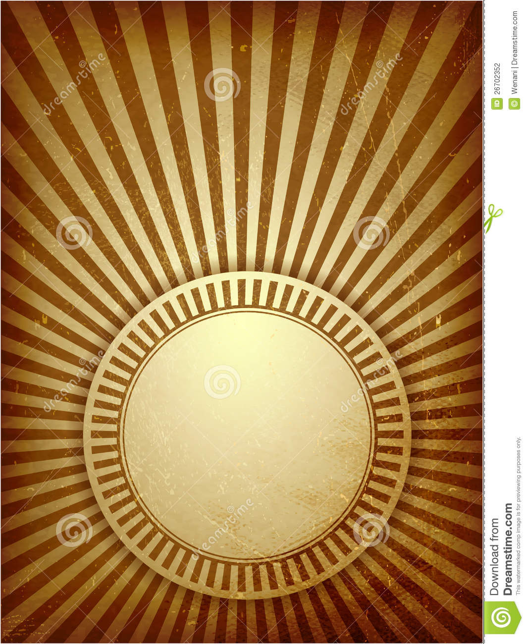Brown Grunge Light Rays Background Stock Vector - Image ...