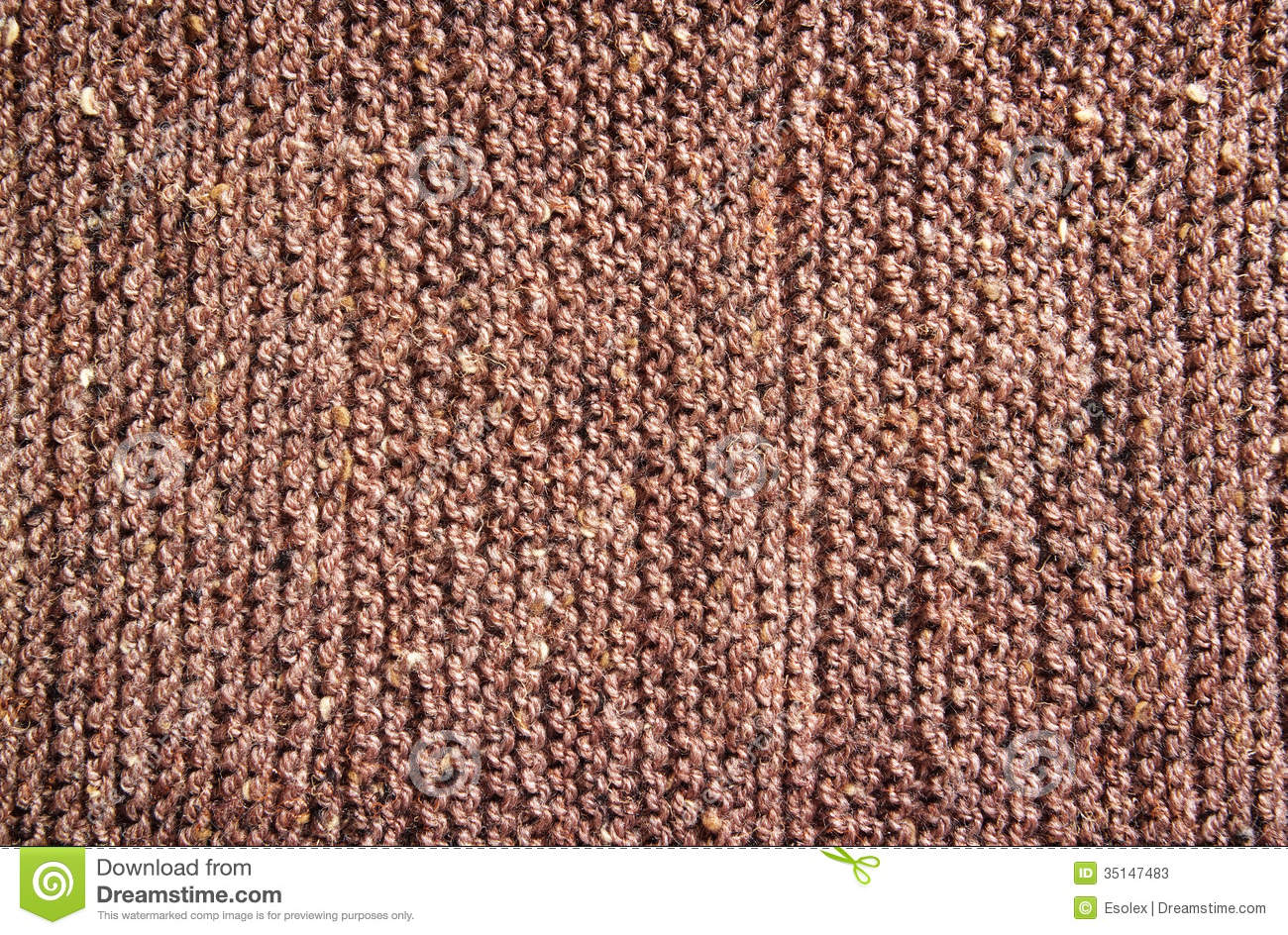Knitting Background Texture : Brown knitting wool texture stock photos image