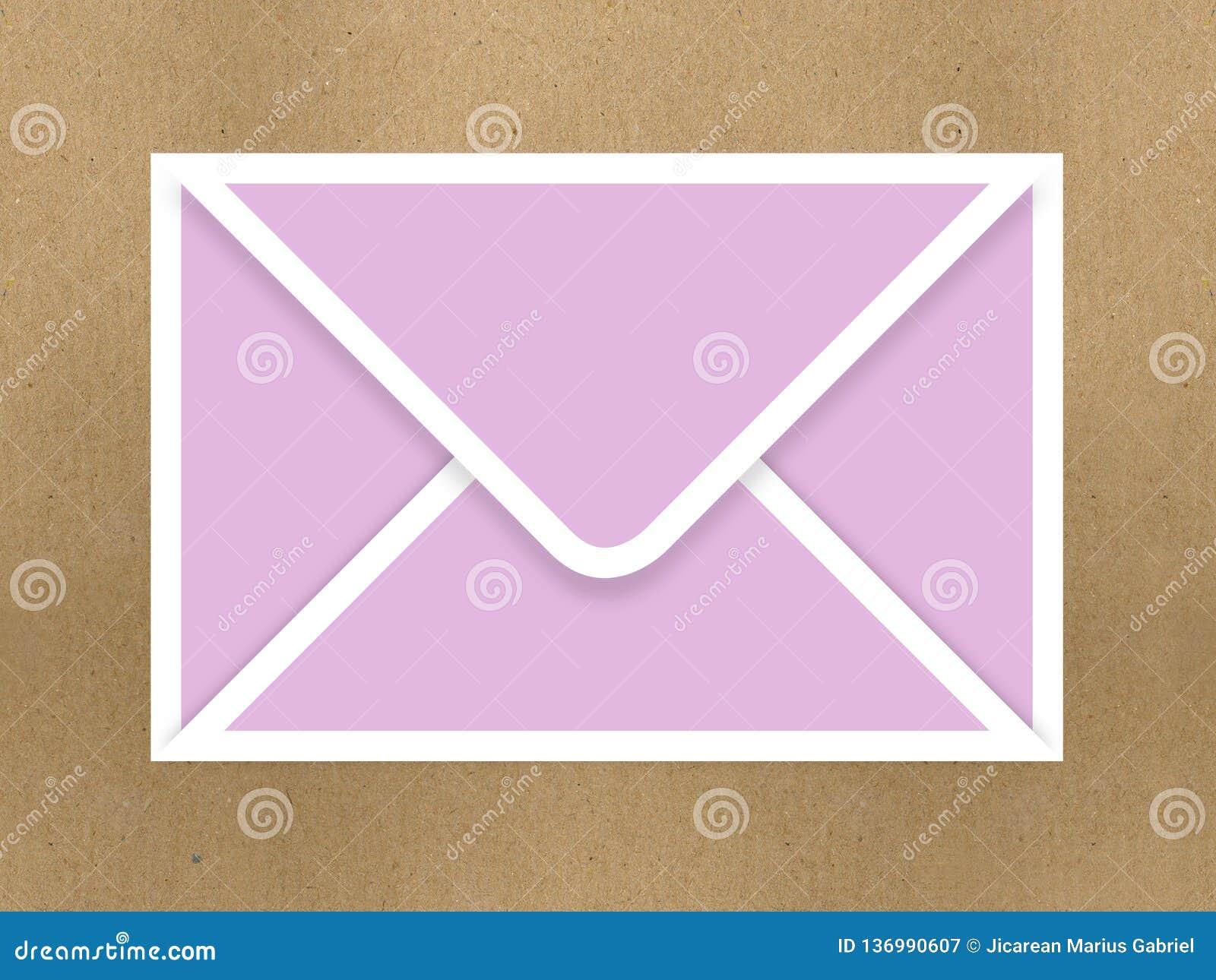 Brown kopert dokument odizolowywający na białym tle