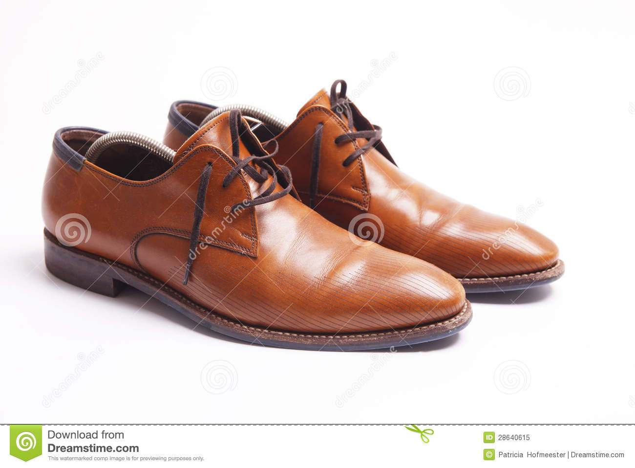 brown leather men 39 s shoes royalty free stock photo image 28640615. Black Bedroom Furniture Sets. Home Design Ideas