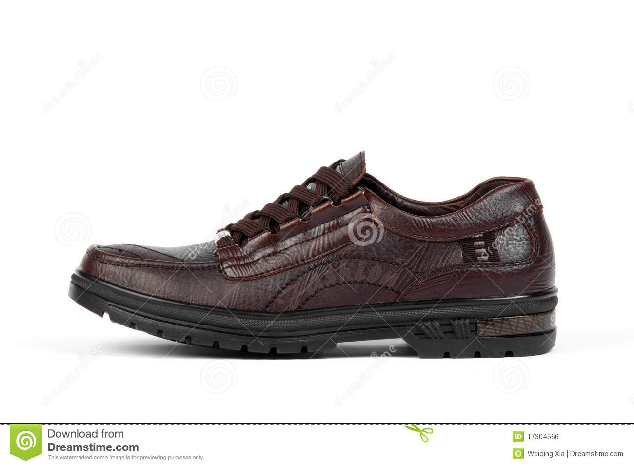 brown leather shoes royalty free stock image image 17304566
