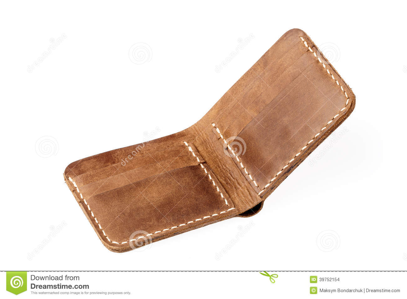 brown leather sofa isolated - photo #18