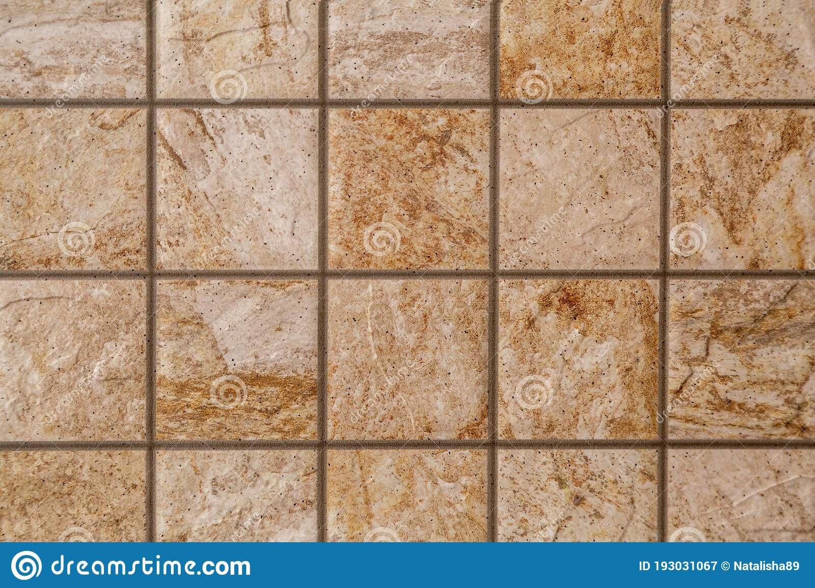 Brown Marble Stone Tiles Background Stock Image Image Of Flooring Decor 193031067