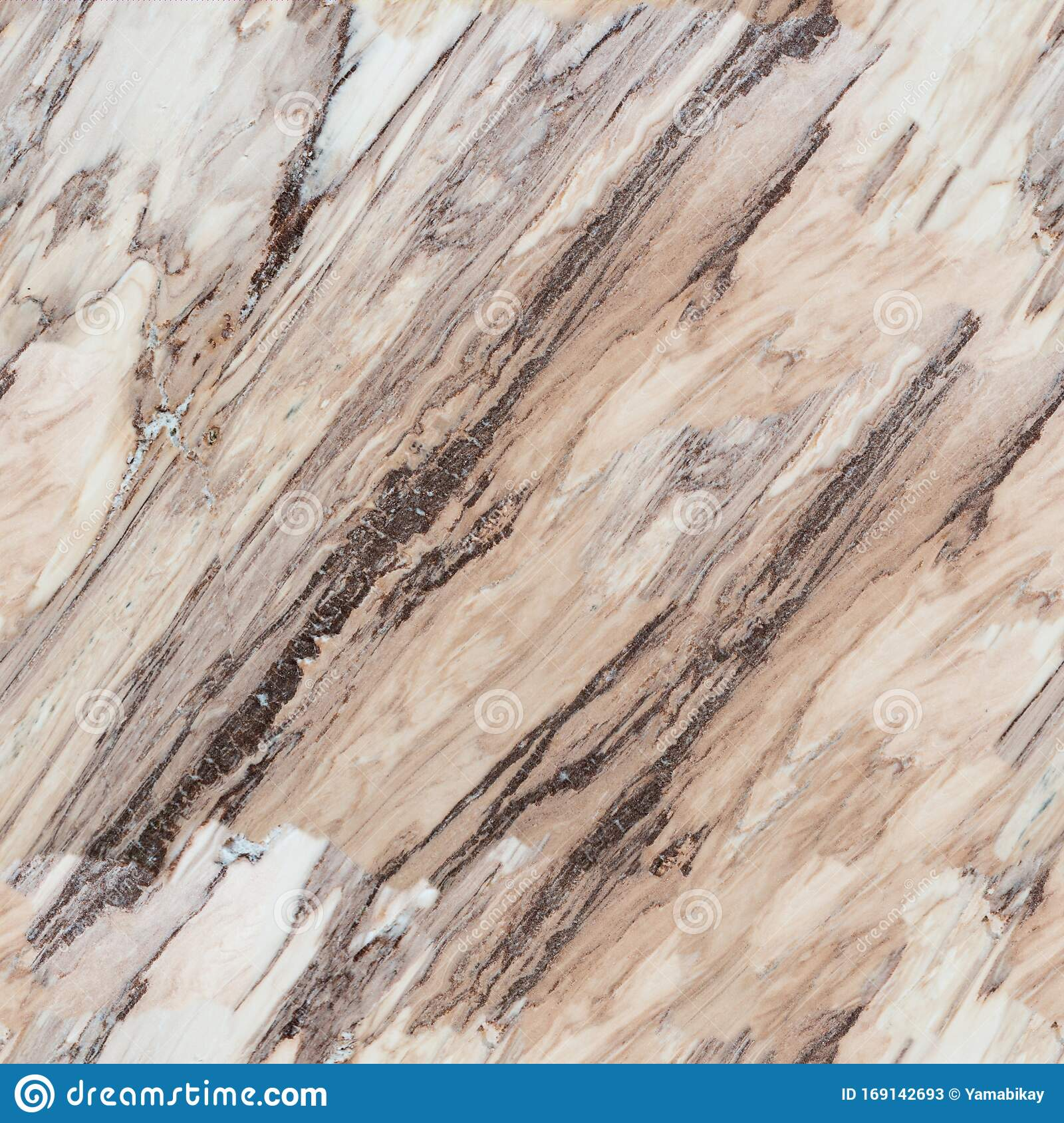 Brown Marble Texture Close Up Seamless Square Background Tile Ready Stock Image Image Of Marble Marbled 169142693
