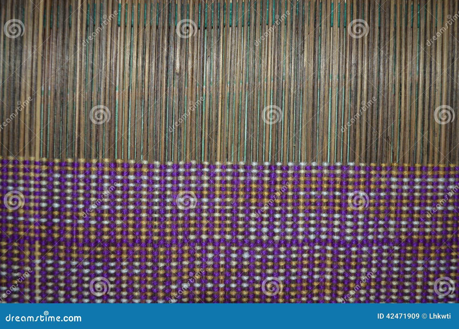 Brown-Matte verwoben mit Thread