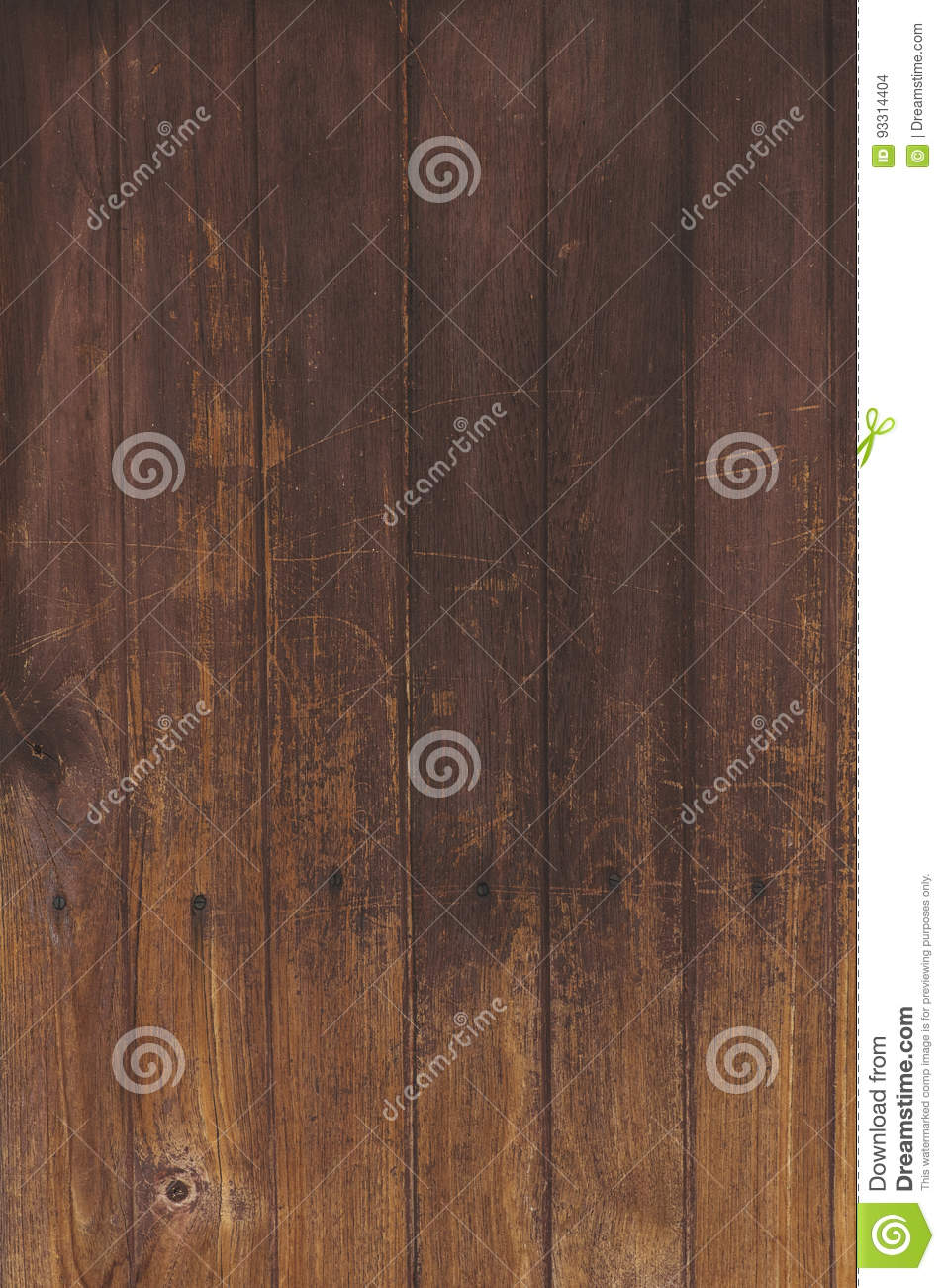 Brown natural wood wall texture and background seamless