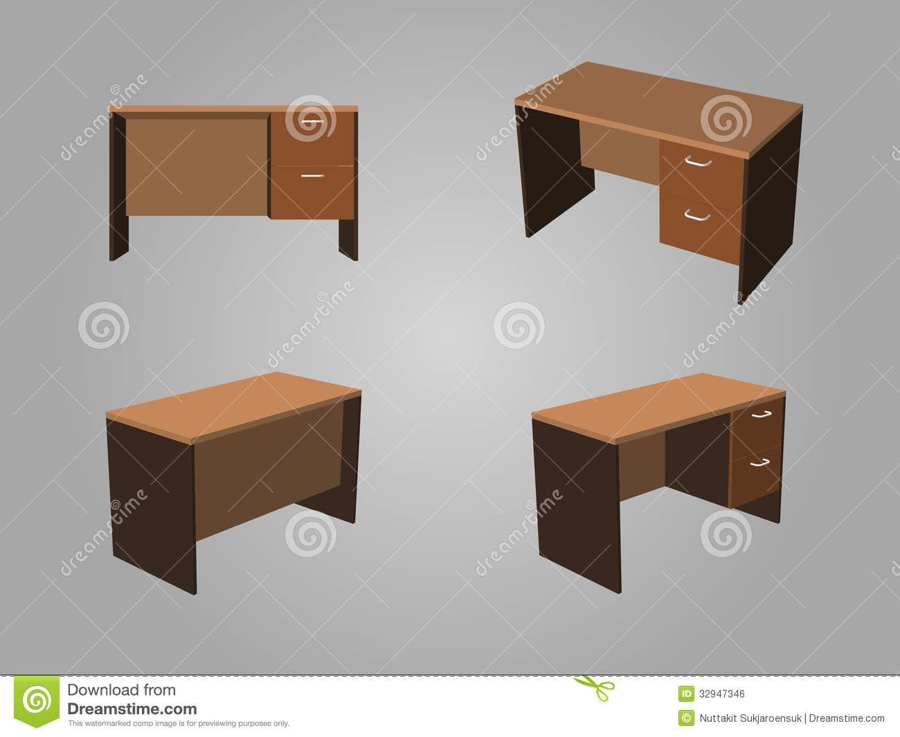 Brown Office Table Vector Royalty Free Stock Image Image  : brown office table vector four view tone made wood 32947346 Office <strong>Clip Art.com</strong> from www.dreamstime.com size 1300 x 1065 jpeg 78kB