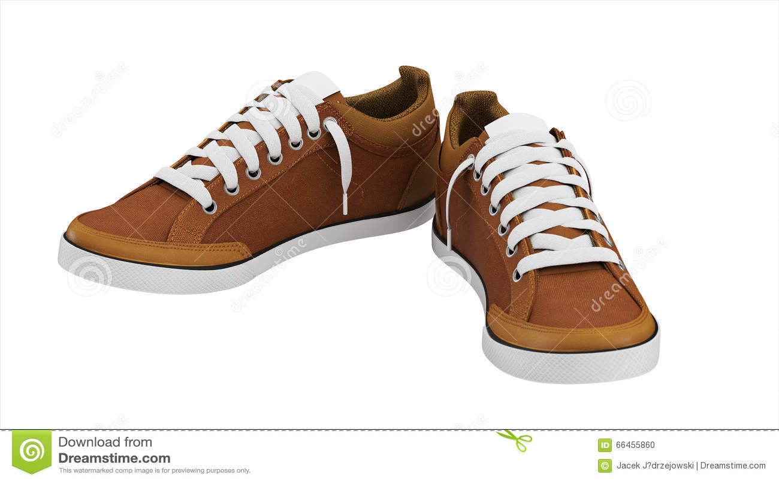 Brown-Paare Sportturnschuhe