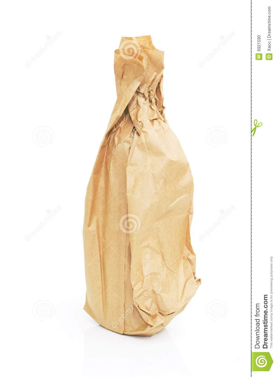 brown paper retail bags
