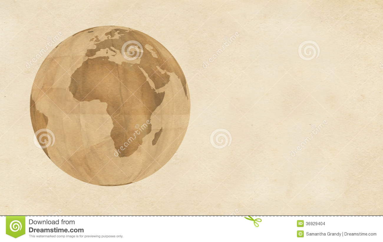 Brown Paper Globe Stock Video Video - Us map redrawn background