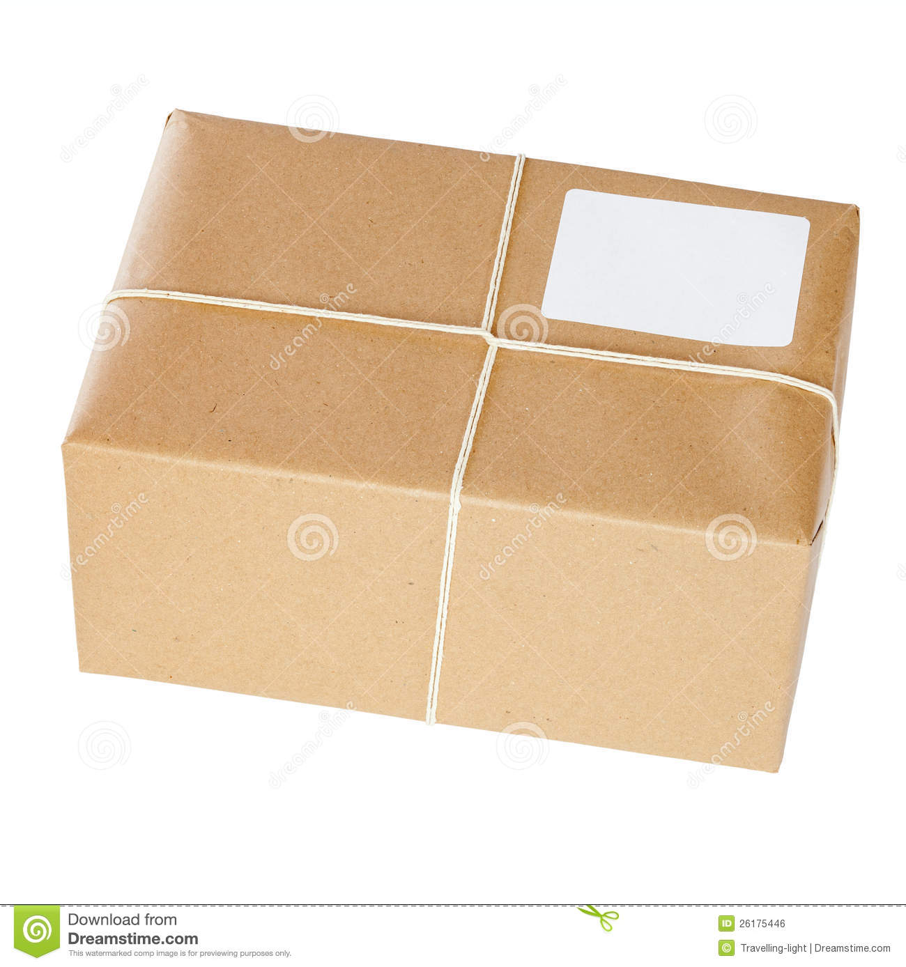 Brown Paper Parcel Royalty Free Stock Image Image 26175446