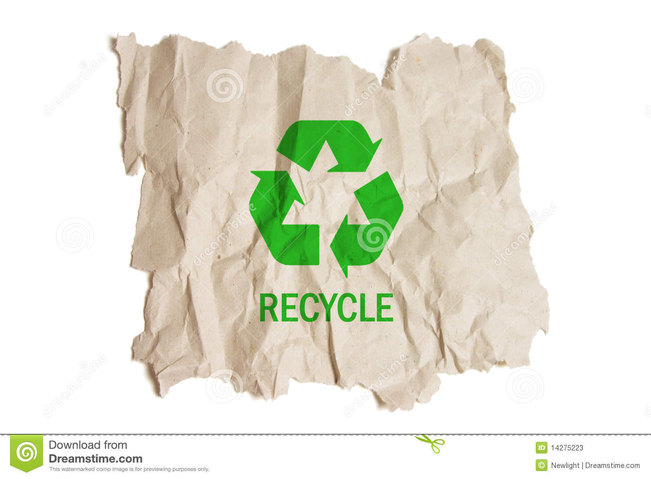 Brown paper with recycle symbol stock image image of life shot brown paper with recycle symbol buycottarizona