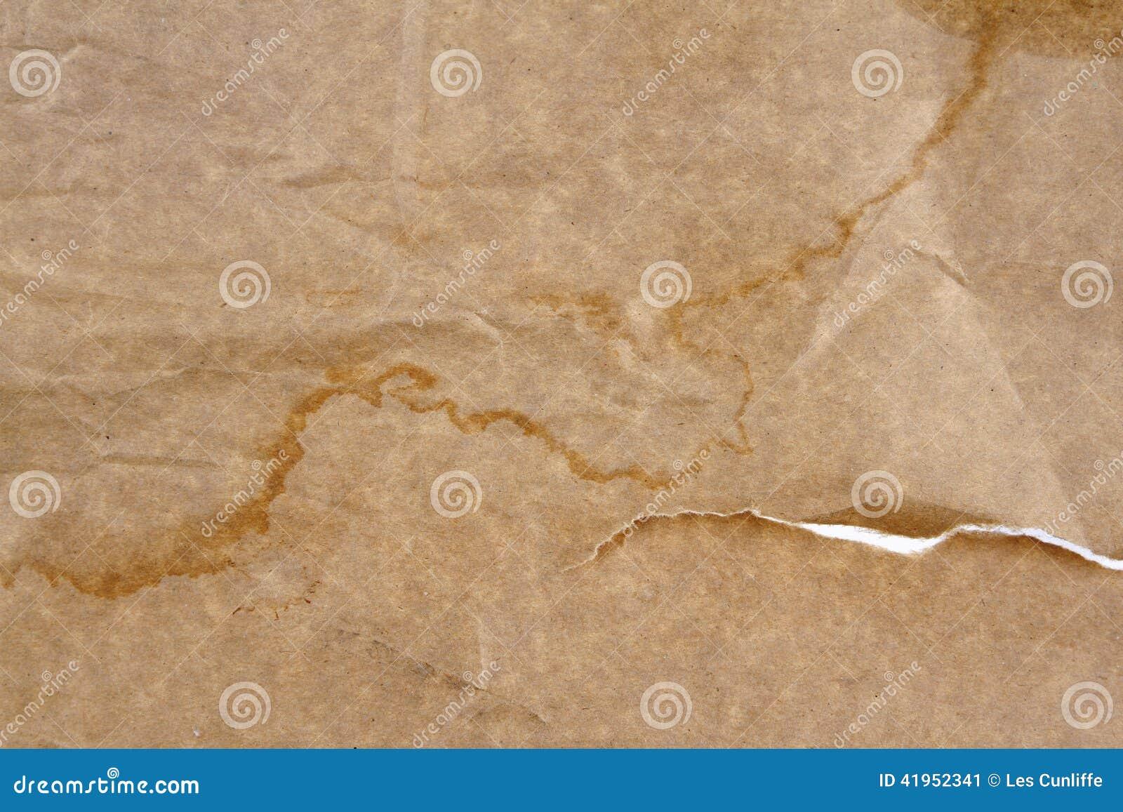 Brown papier