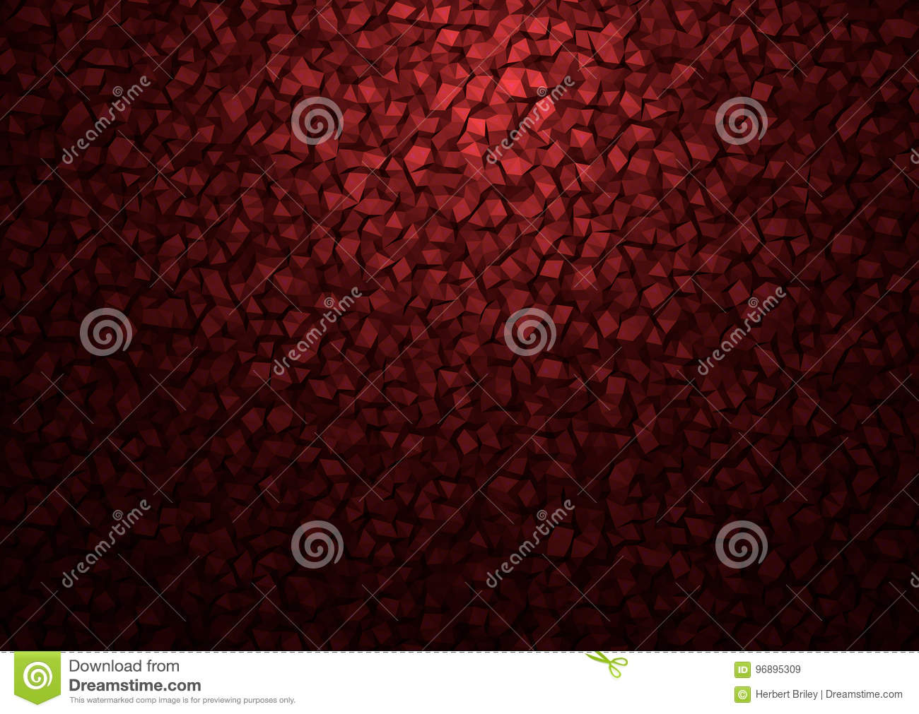 Brown Polygon Particles Abstract Background