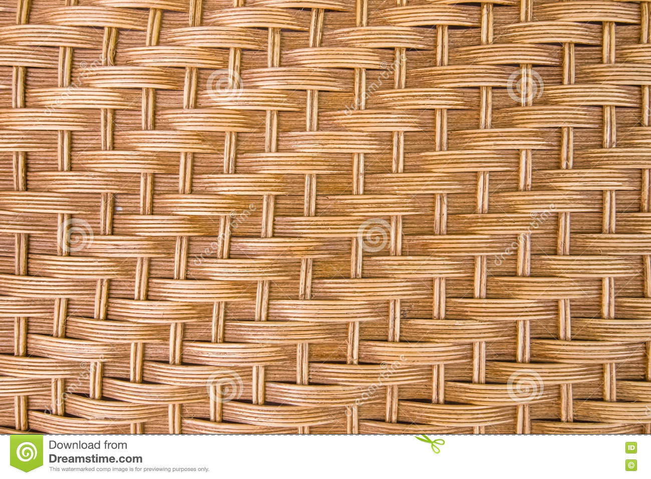 Brown Rattan Texture For Background Stock Image Image