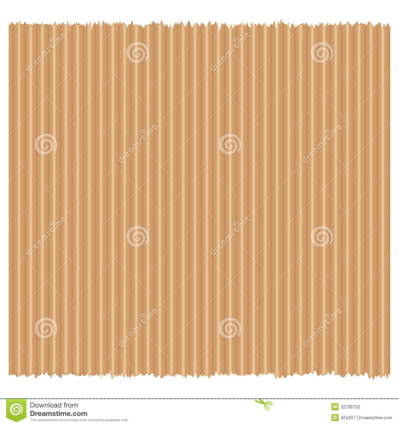 Brown Recycled Paper Cardboard Texture Vector Stock ...