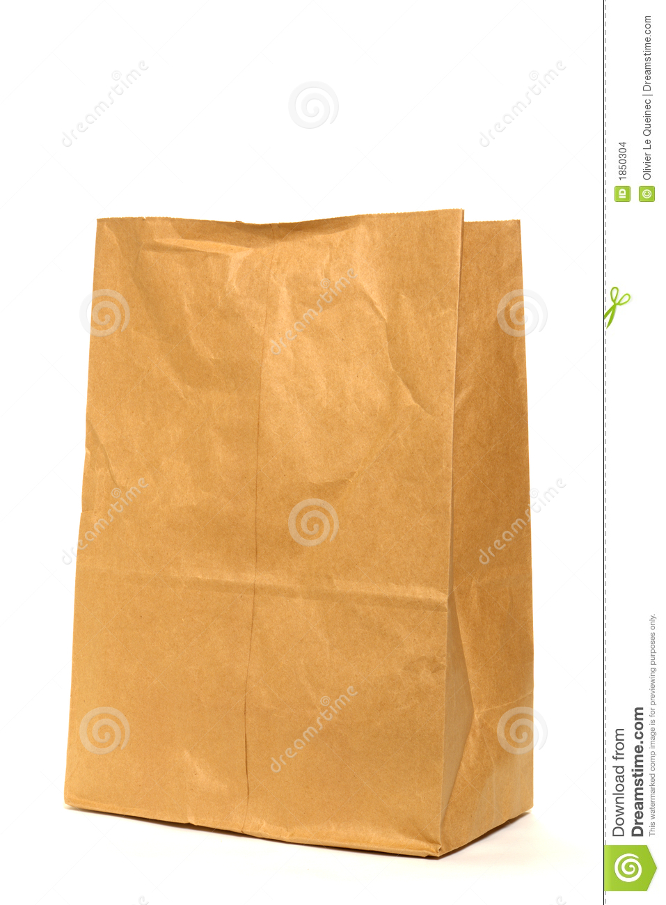 Paper Bag Clip Art Brown recycled paper grocery