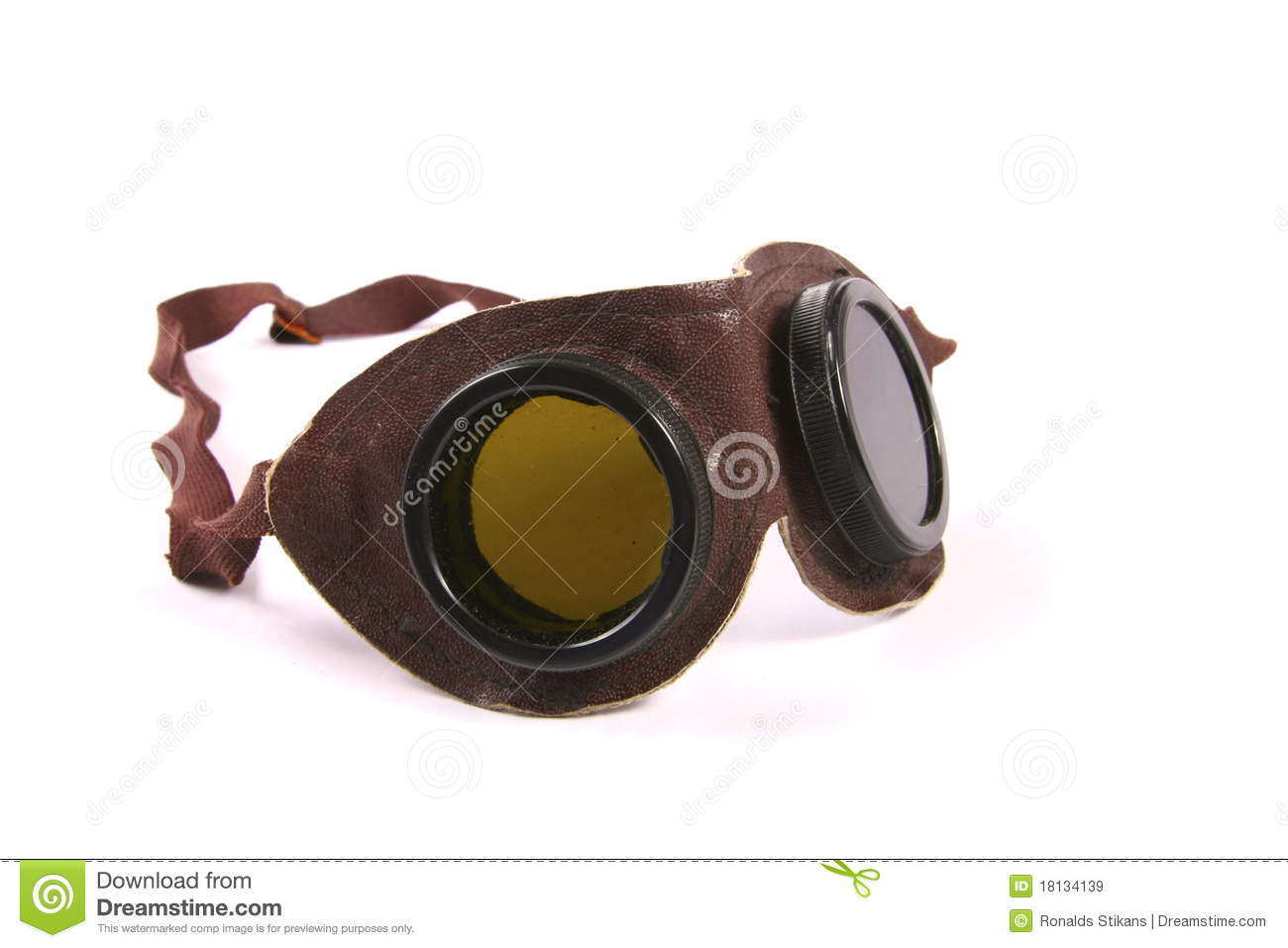 Cebe 500 Leather Goggles Never Worn! on Carousell