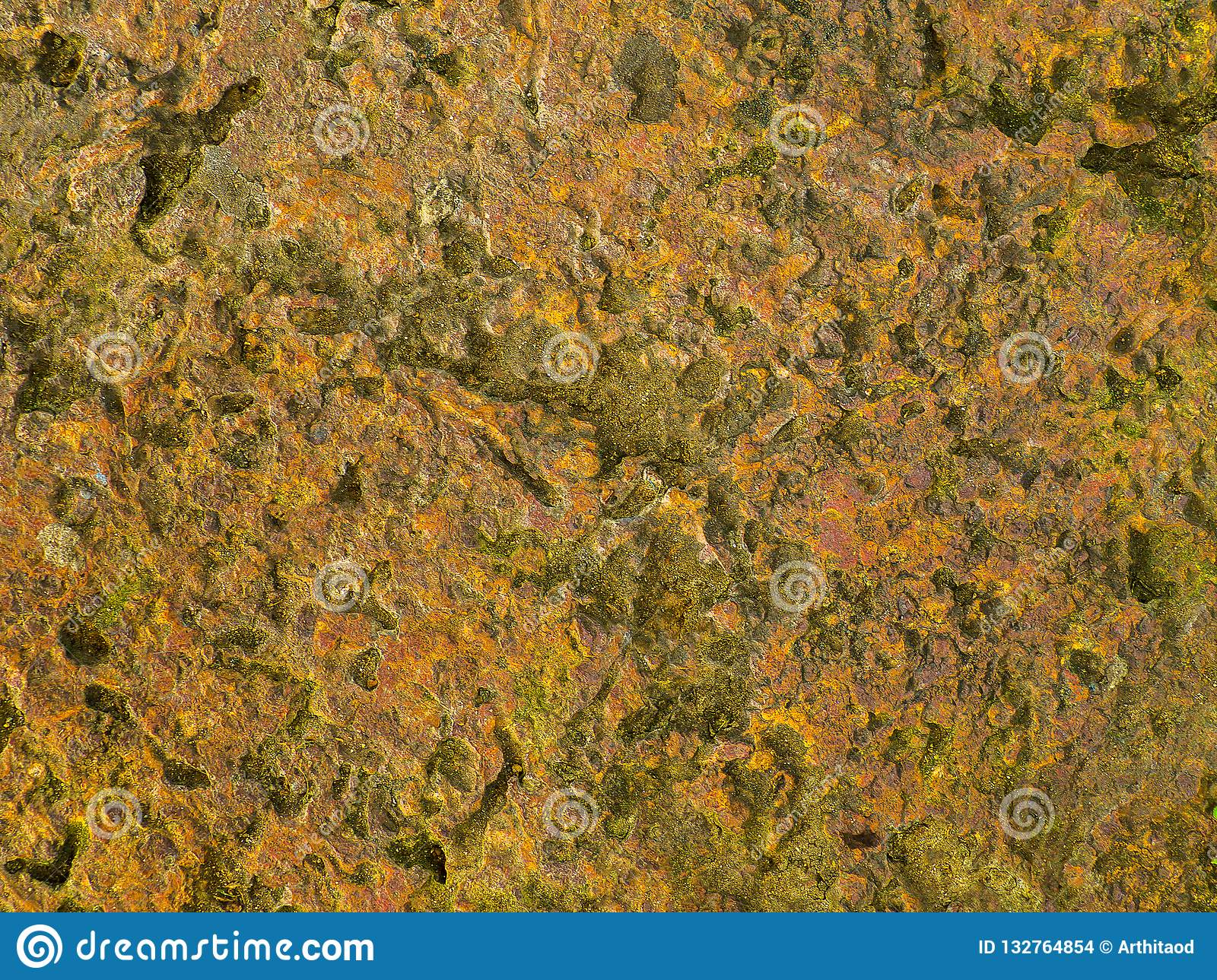 Brown stone texture. Background abstract of stone grunge rough.