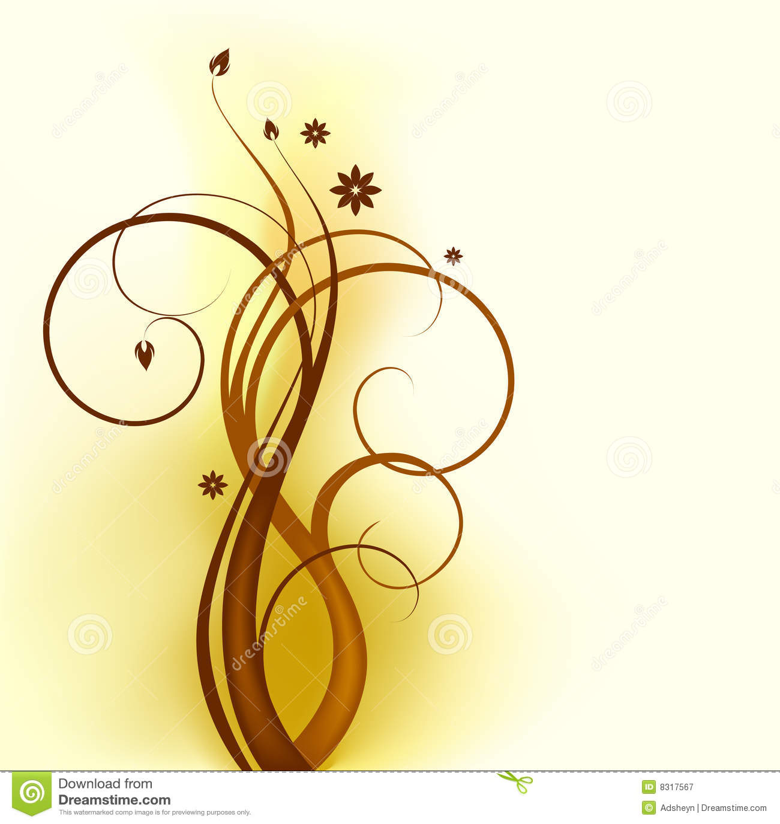 Brown_swirl_design