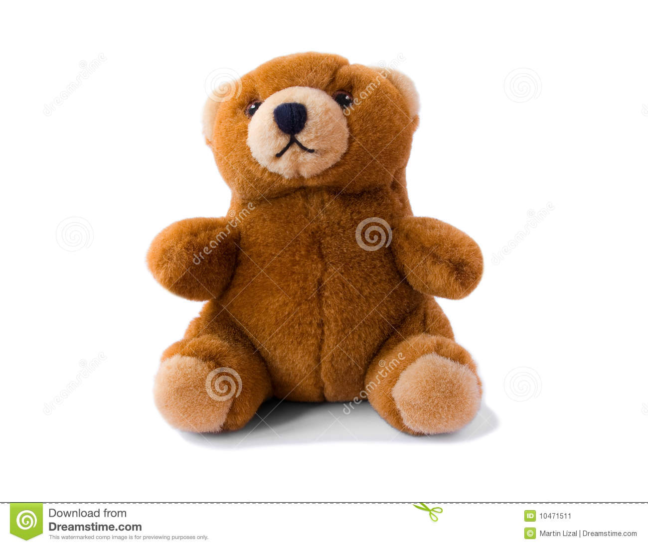 Brown teddy-bear stock image. Image of sweet, carpet ...