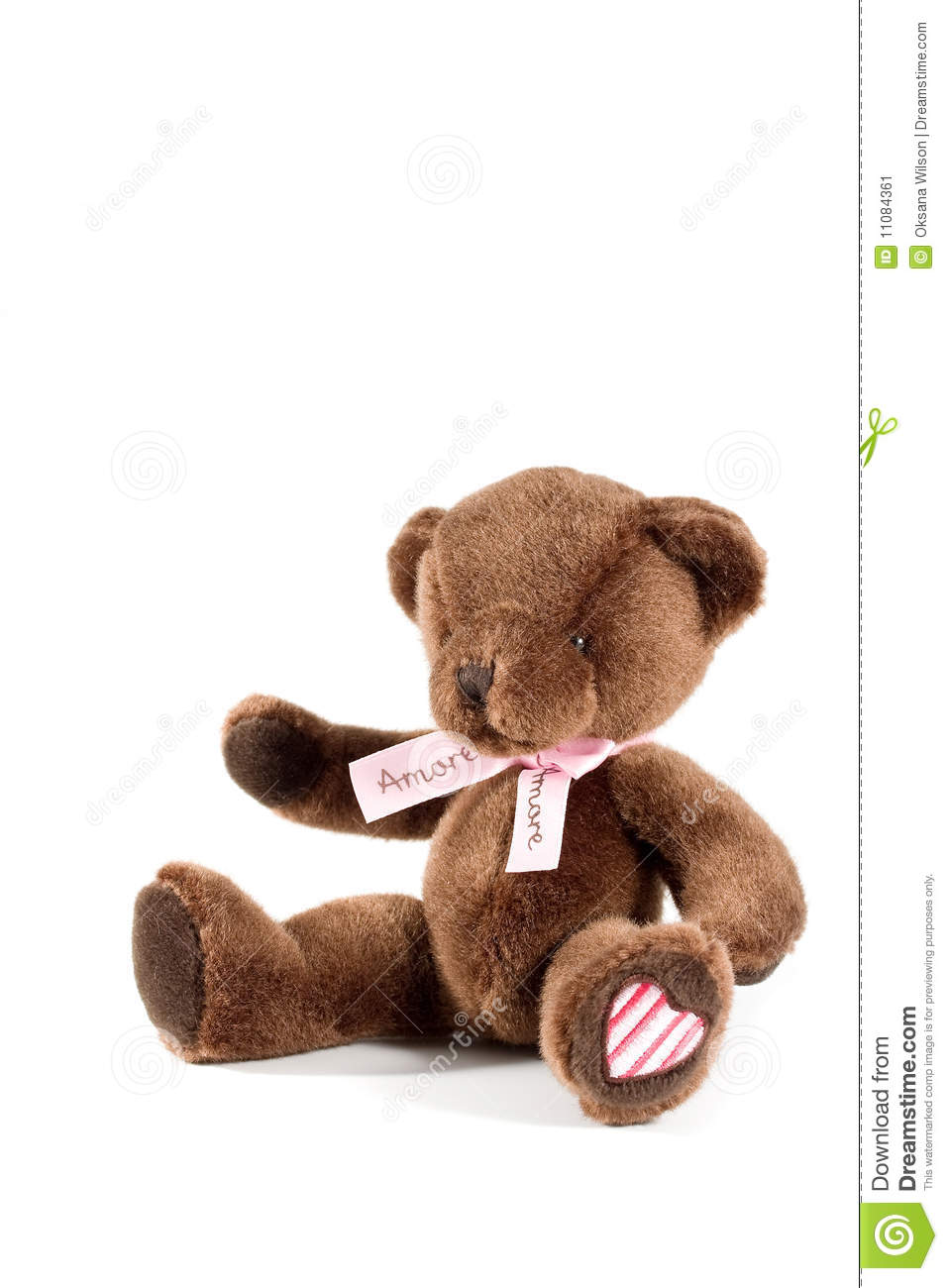 Brown teddy bear stock image. Image of isolated, softness ...