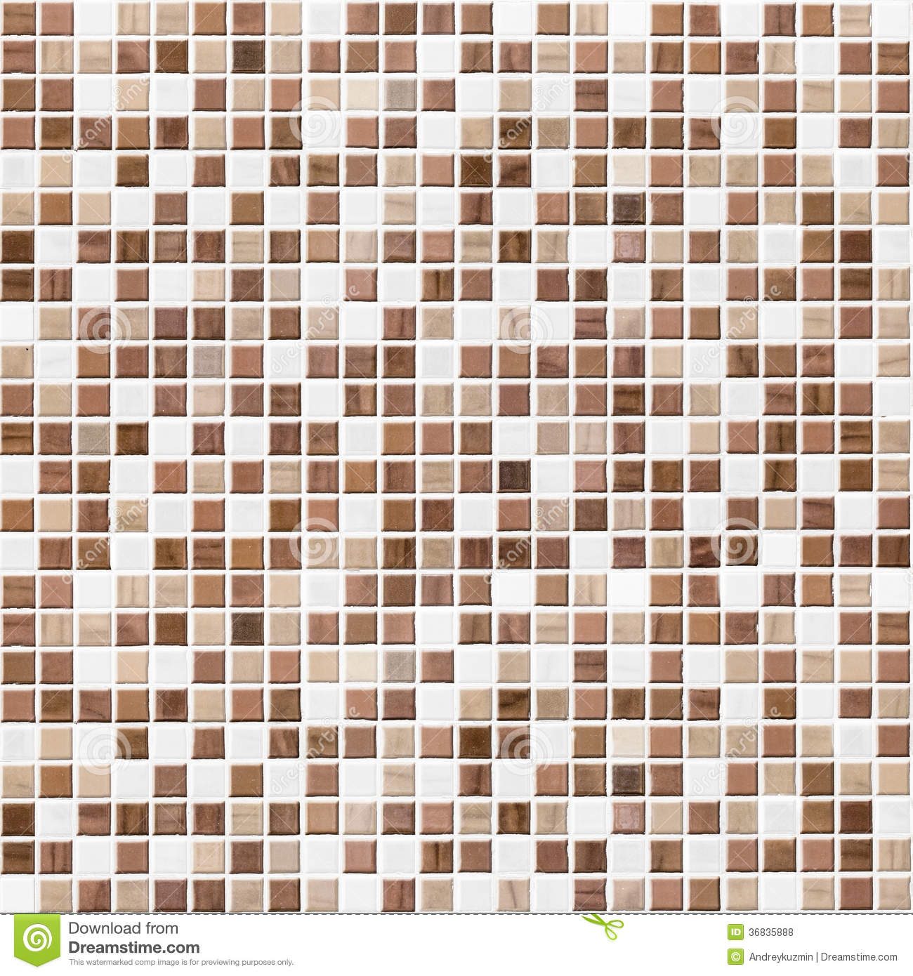 Brown Tiled Bathroom, Kitchen Or Toilet Tile Wall Background ...