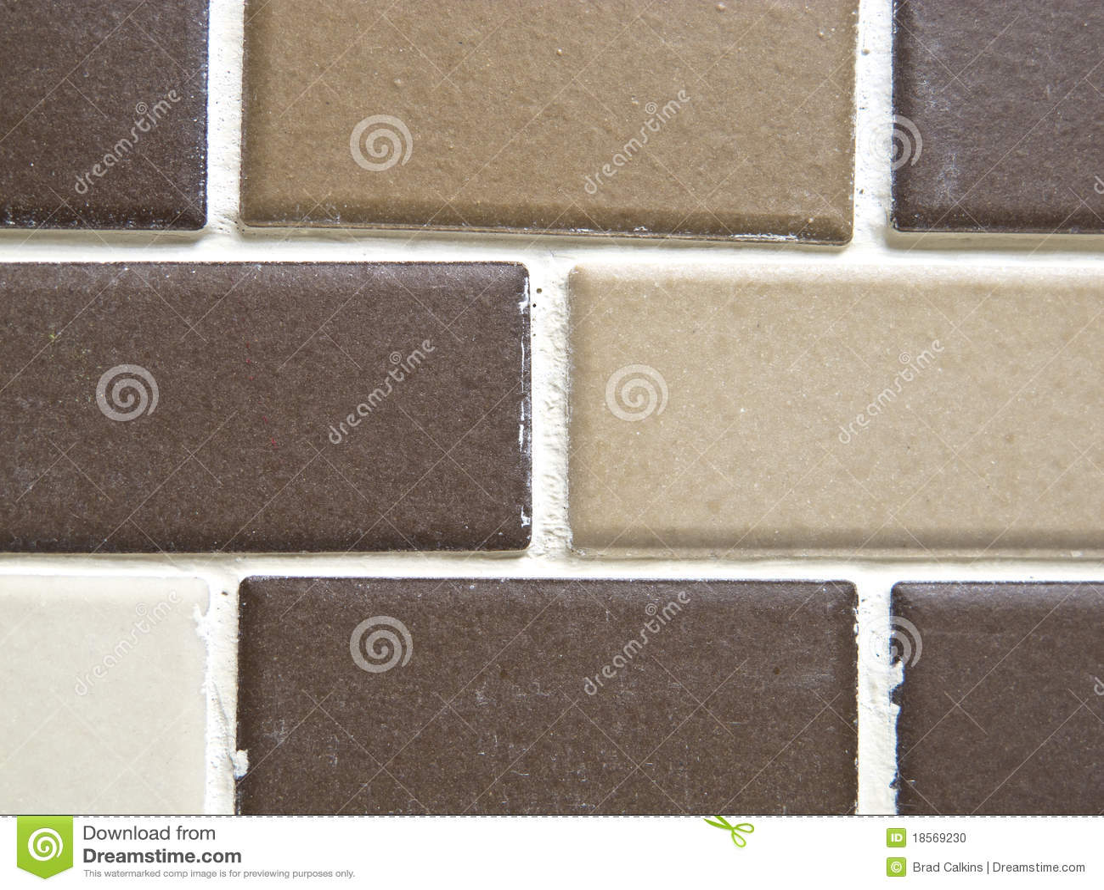 Brown Tiles Stock Photo Image 18569230