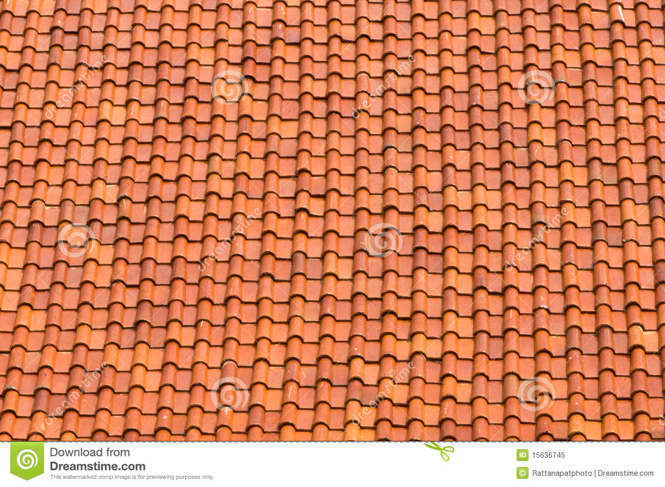 Brown Tiles On Roof Royalty Free Stock Photo Image 15636745