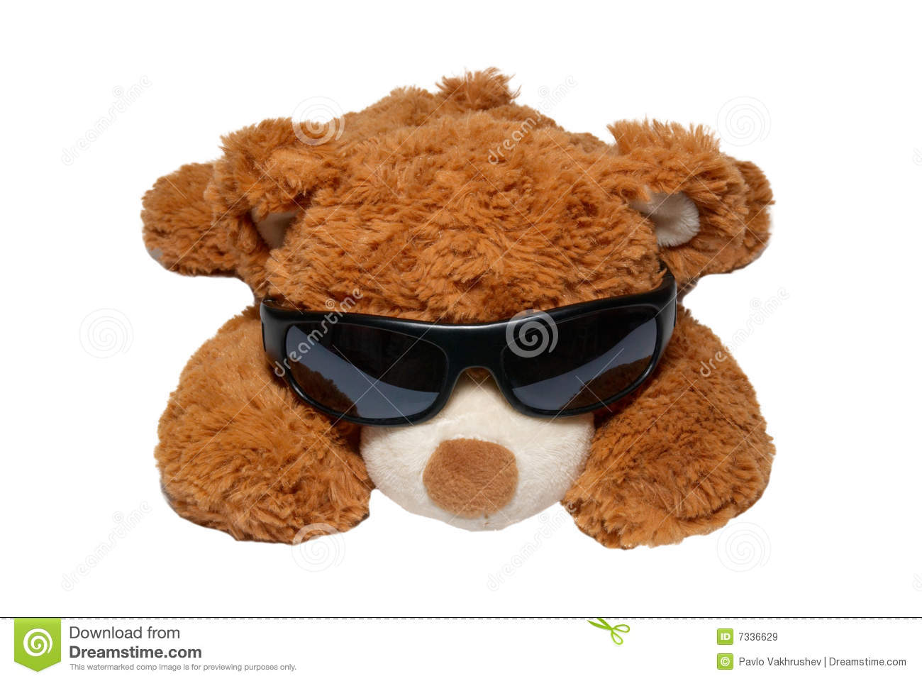 818b64a1f30 Brown Toy Bear In Sunglasses Stock Image - Image of color