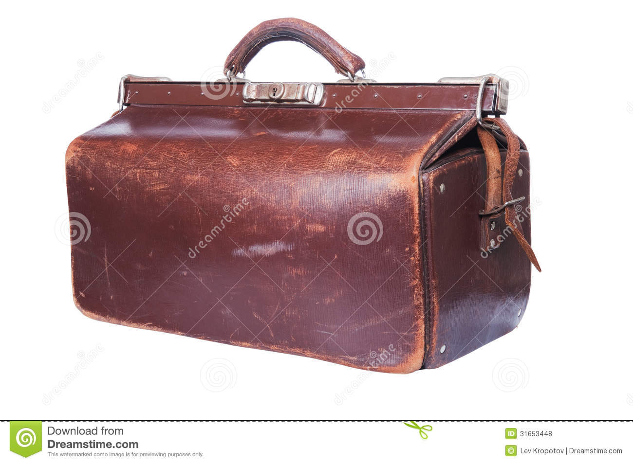 Brown vintage valise royalty free stock photos image 31653448 - Valise carton vintage ...
