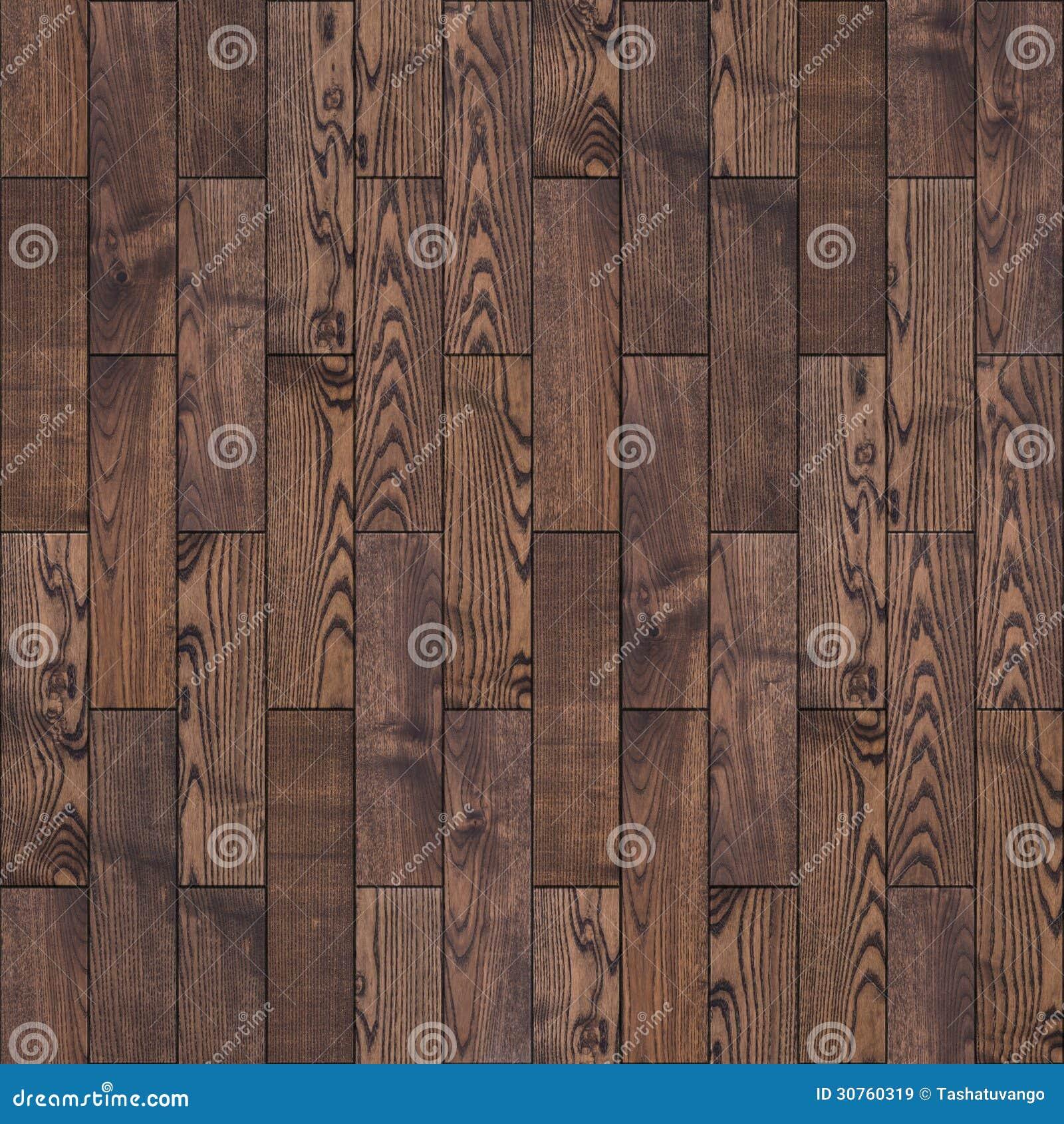 Brown Wood Parquet Floor. Seamless Texture.