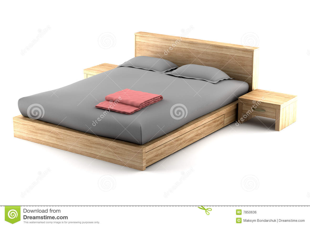 Very Impressive portraiture of Brown Wooden Bed Isolated On White Royalty Free Stock Image Image  with #83A229 color and 1300x956 pixels