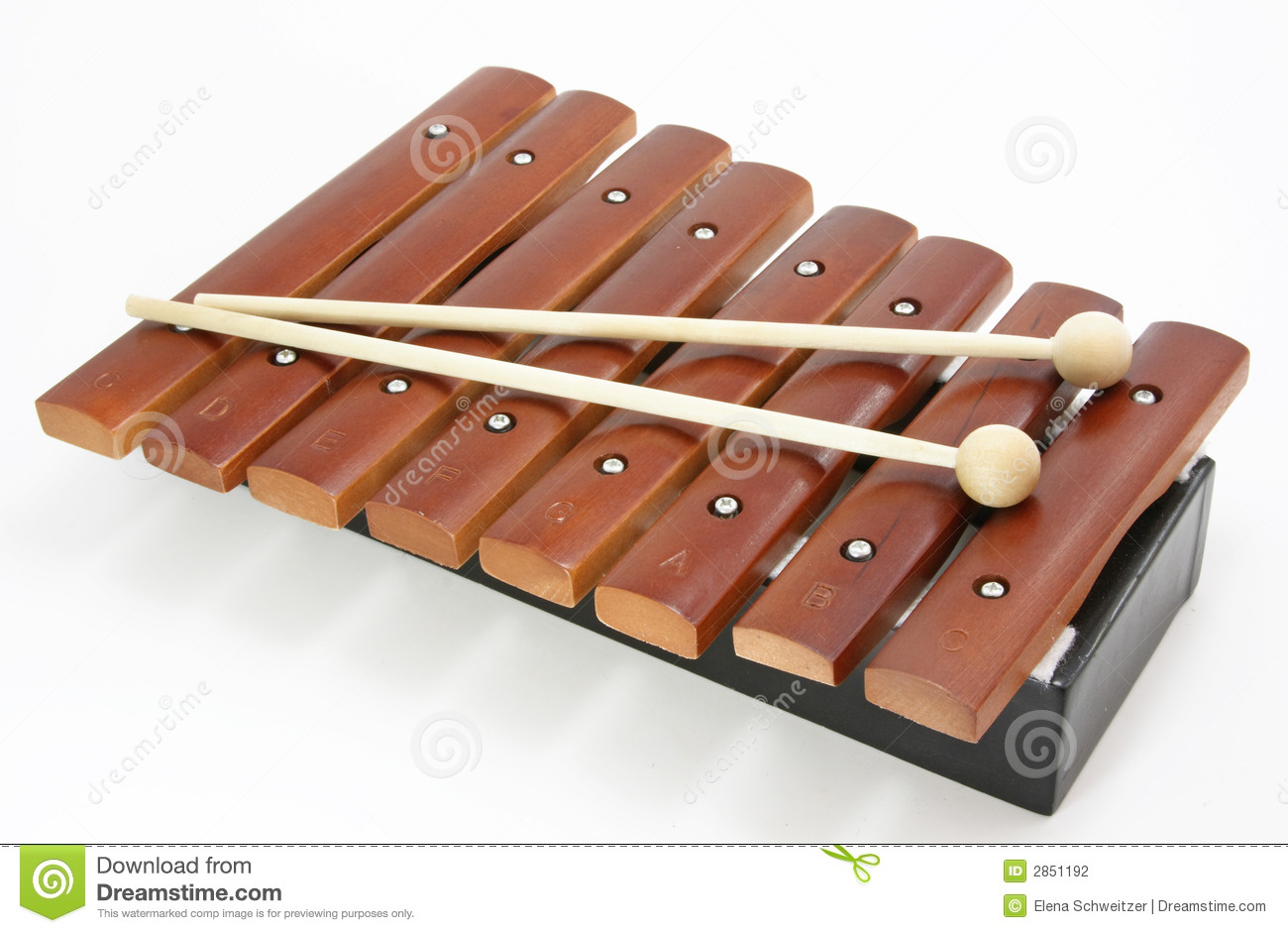 Brown xylophone stock photo. Image of learn, tune, tone ...