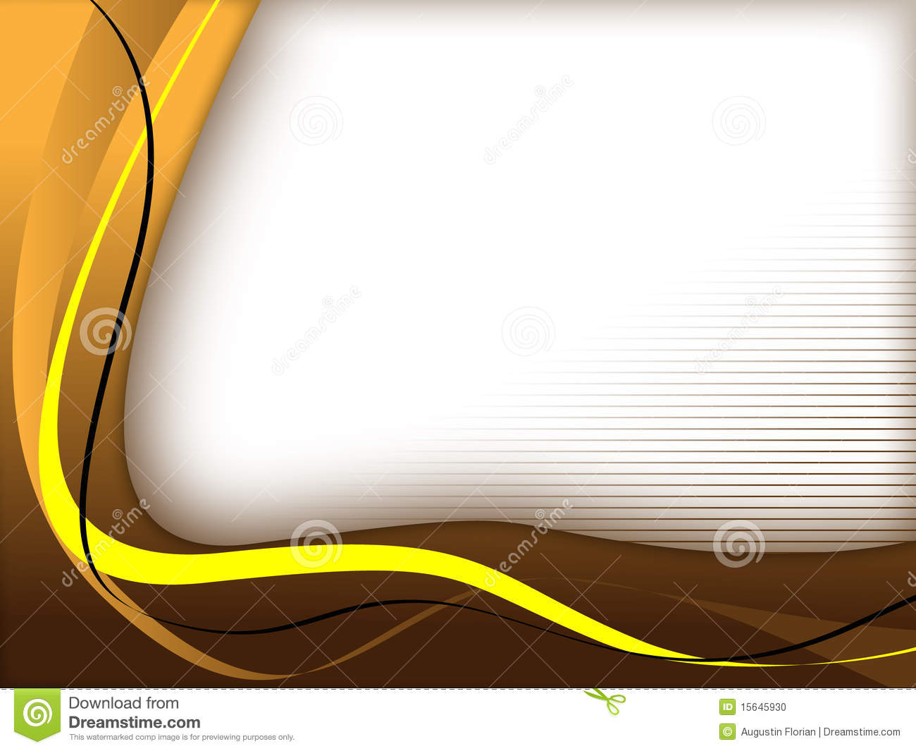 Brown/yellow Background Template Stock Photo - Image: 15645930