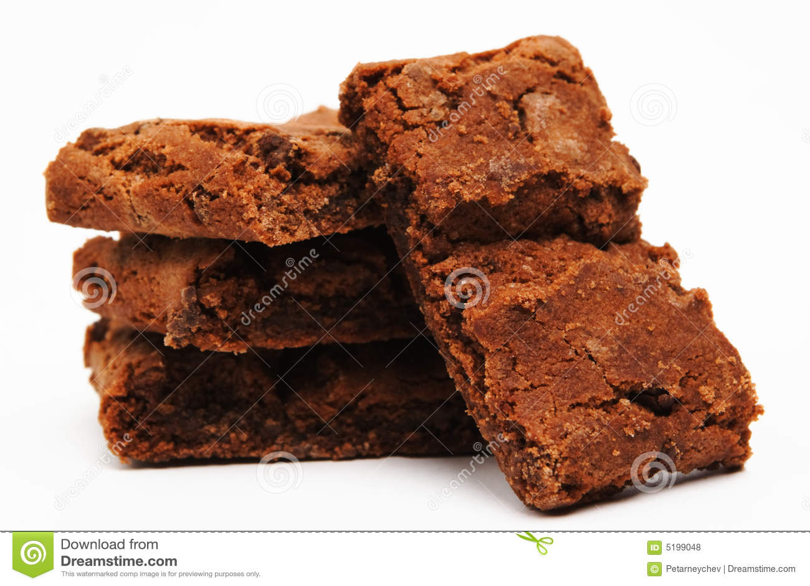 Brownie su bianco