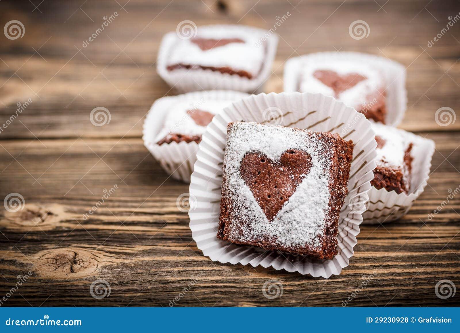 Download Brownies do chocolate foto de stock. Imagem de refeição - 29230928