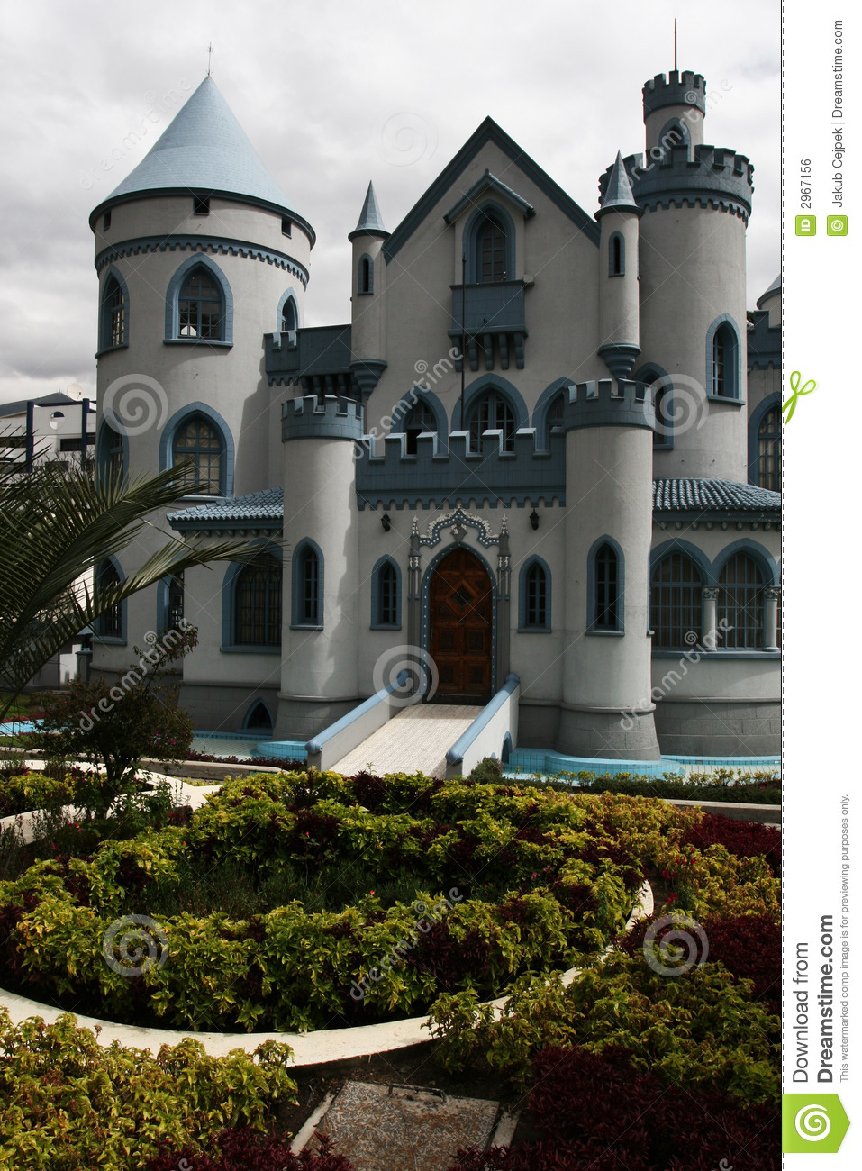 Brownstone house royalty free stock image image 2967156 for Small houses that look like castles
