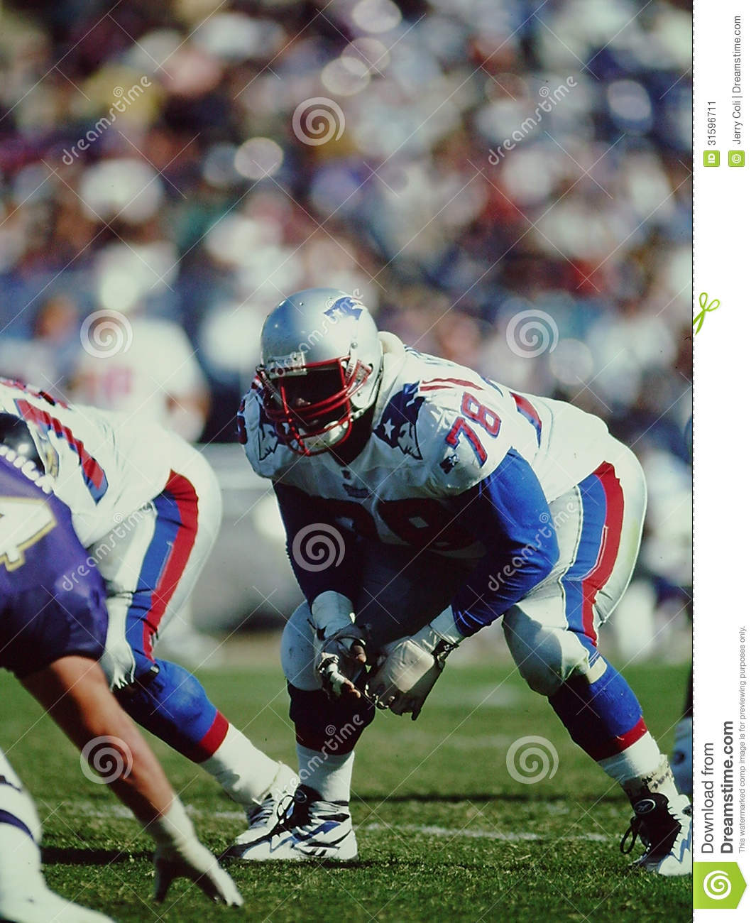 Bruce Armstrong, New England Patriots
