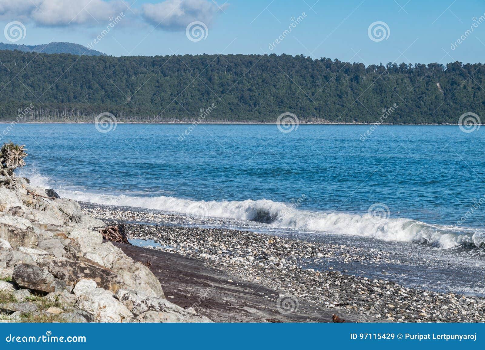 Bruce Bay, Nouvelle-Zélande