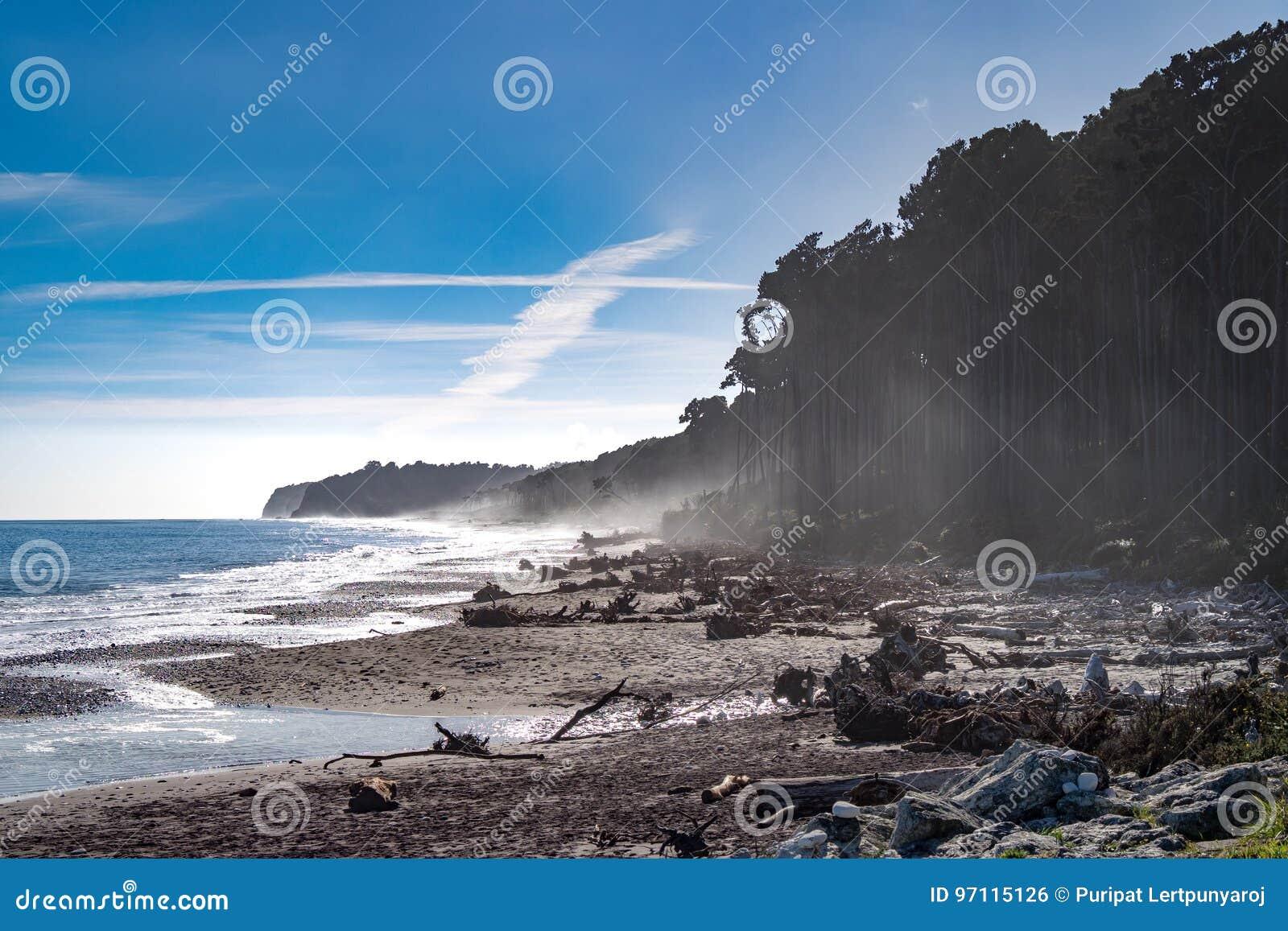 Bruce Bay Nya Zeeland