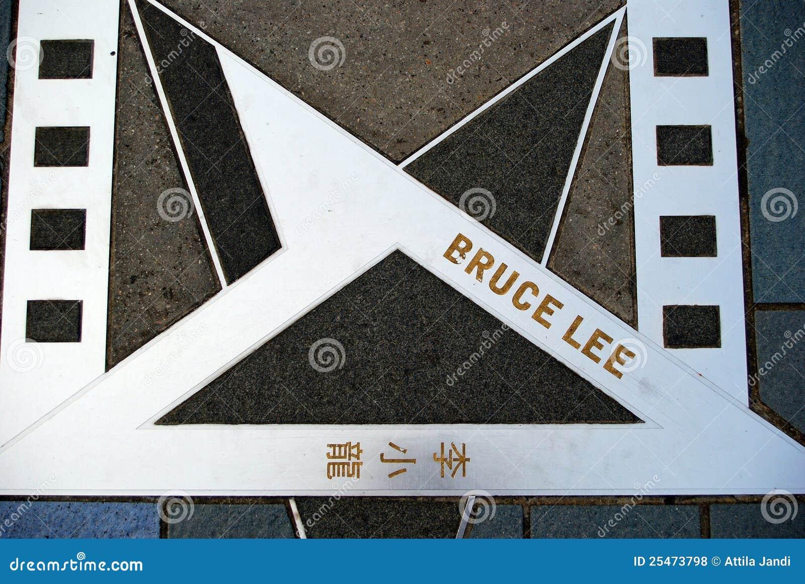 Bruce Lee, Kowloon, Hong Kong