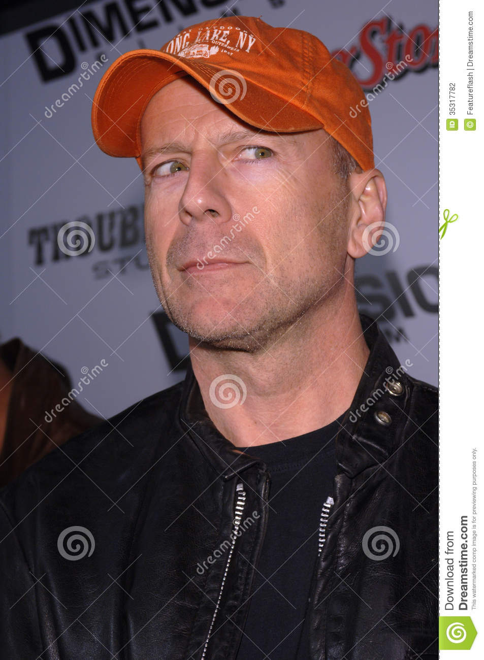 Paul Willis (actor) Actor BRUCE WILLIS at the Los