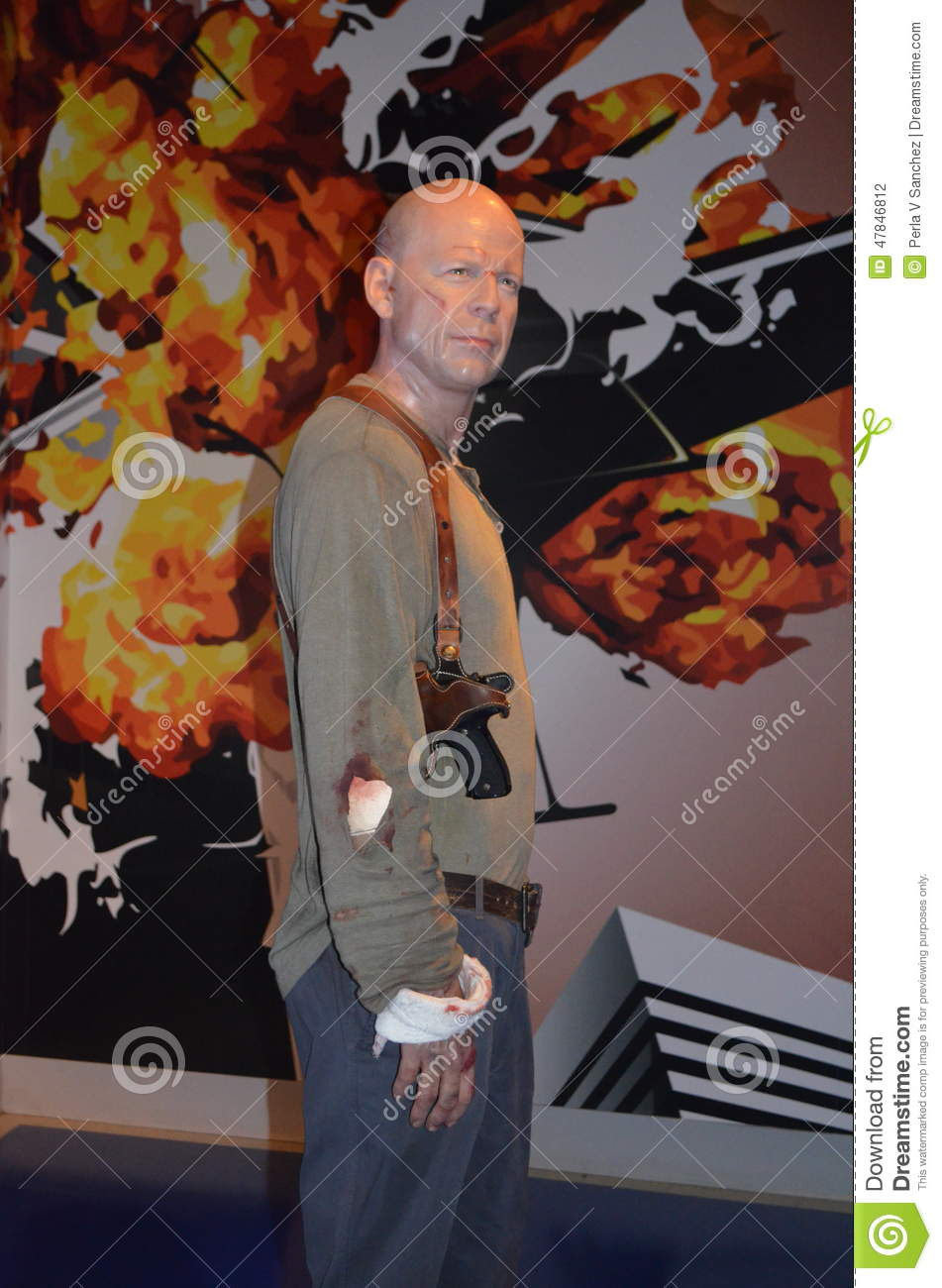 Bruce Willis Wax Figure
