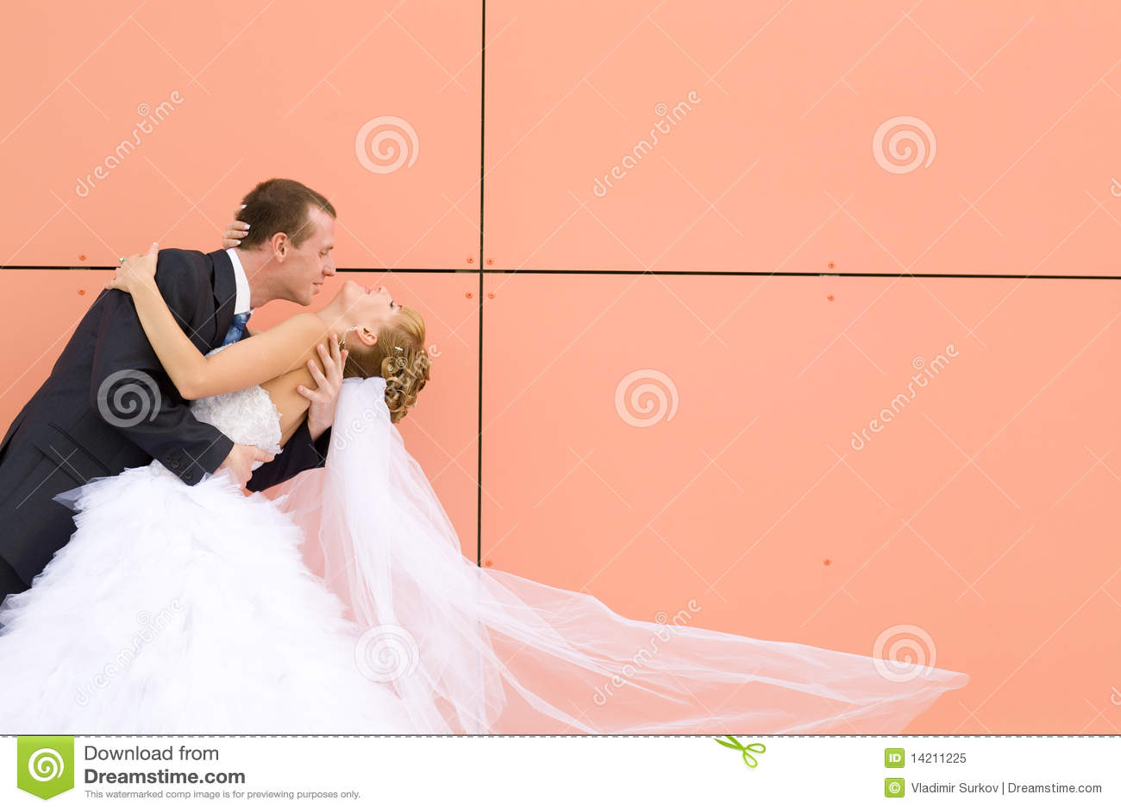 Brudbrudgumkyss