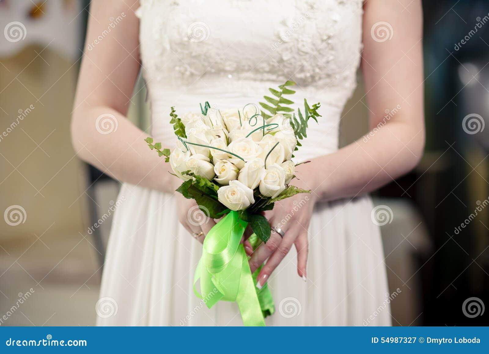 Bruden med en bukett