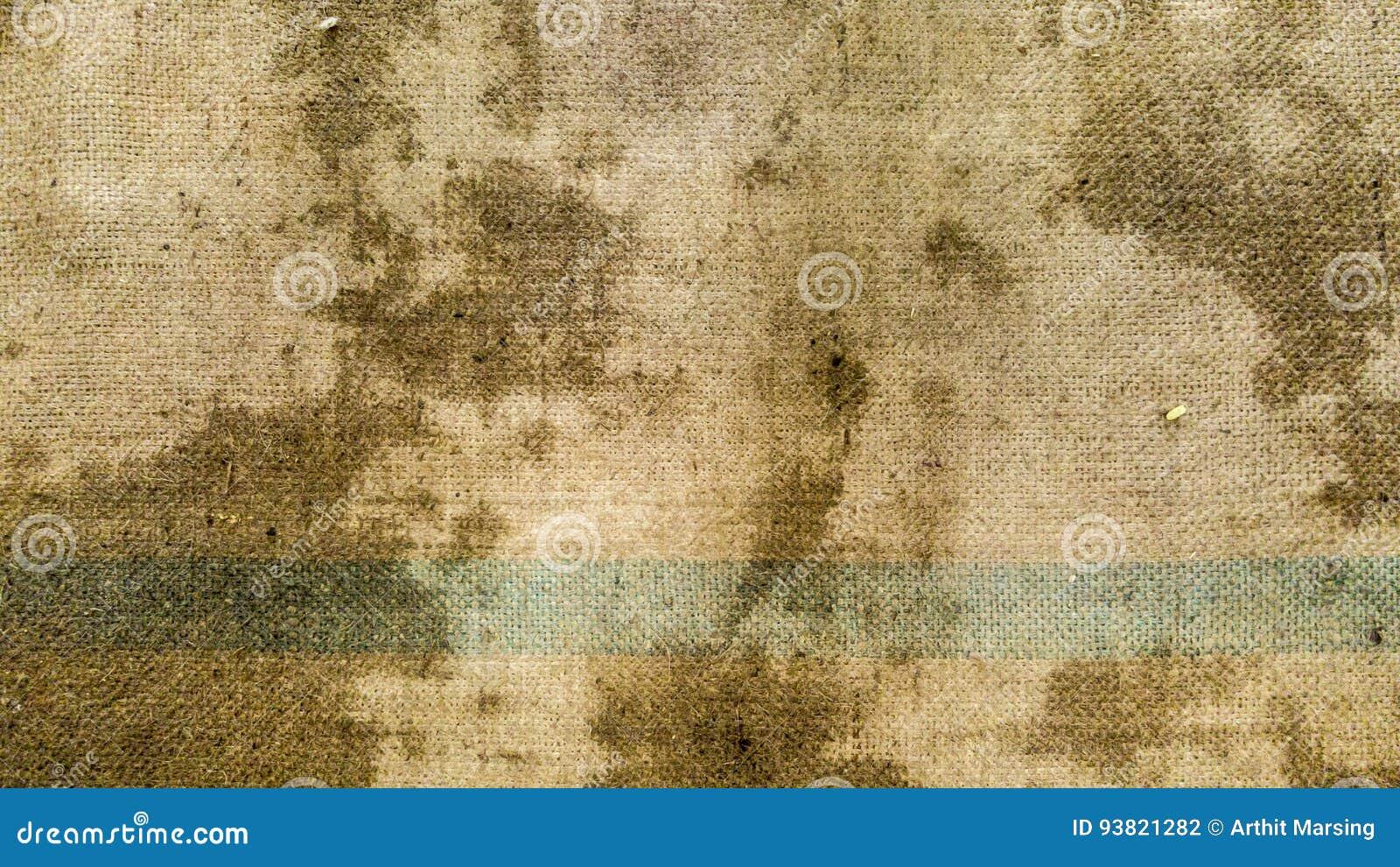 Brudna konopie worka powierzchnia tworzył teksturę i tło
