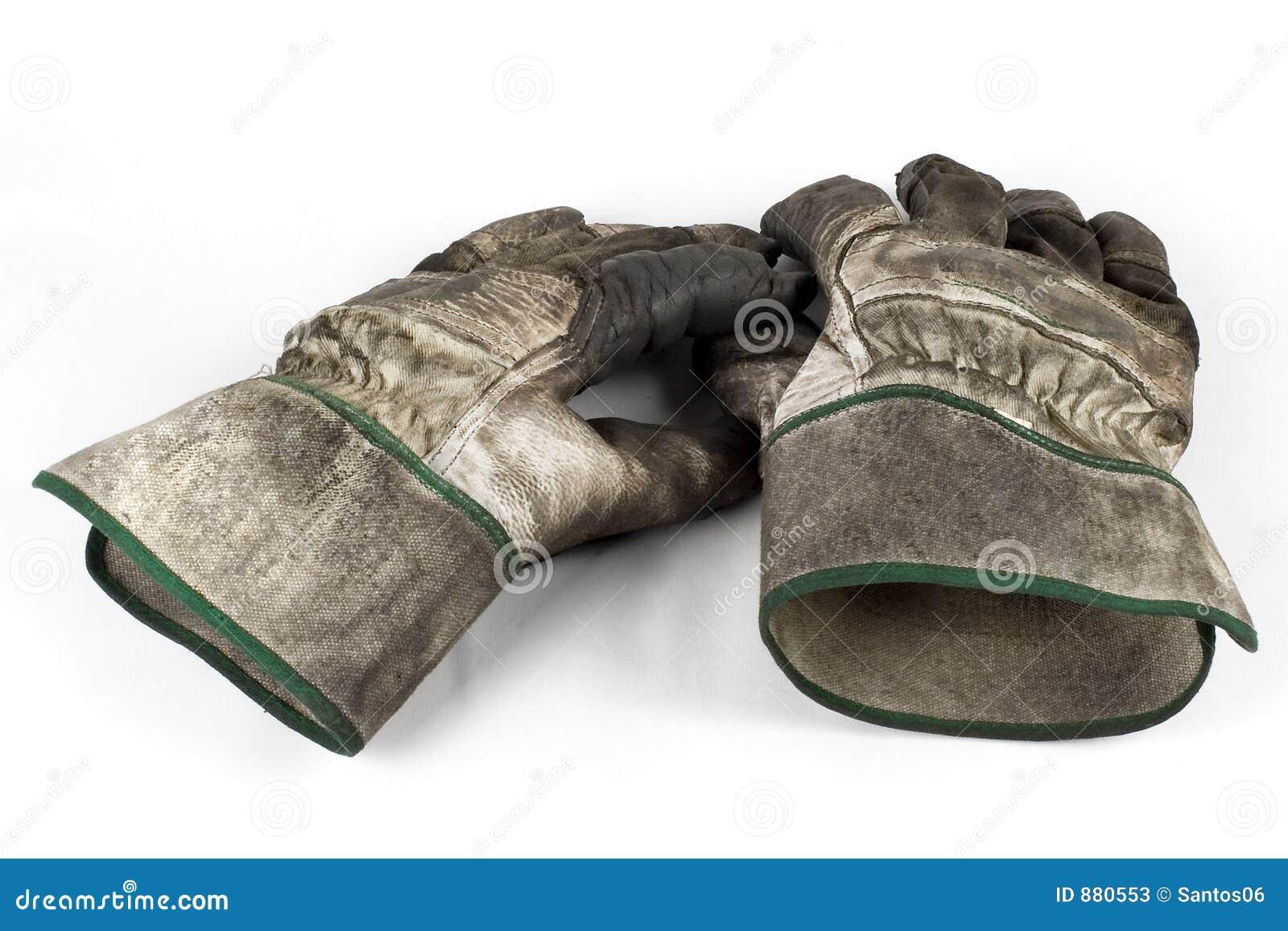 Brudna rękawiczki pracy