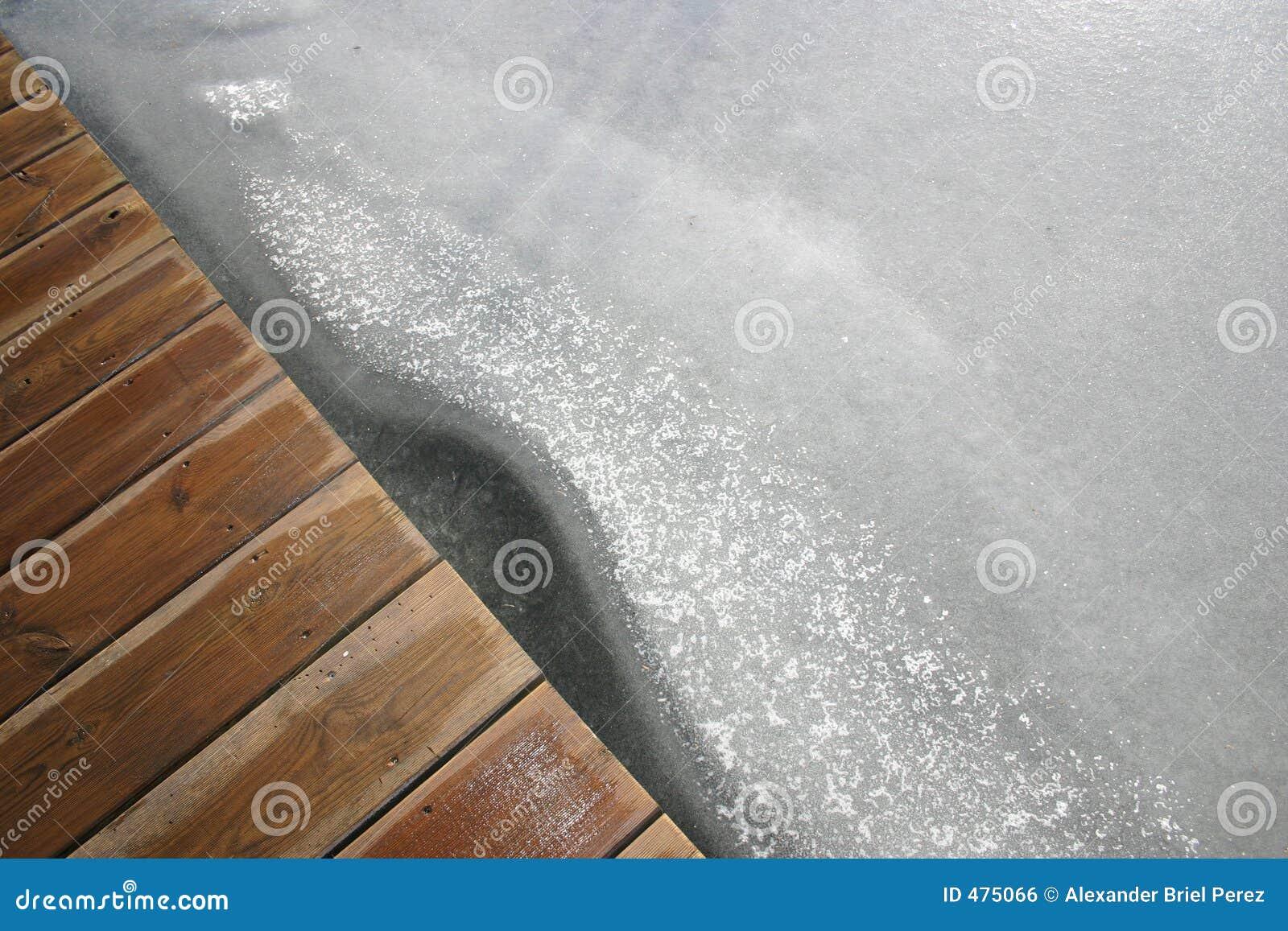 Brug over Icelake